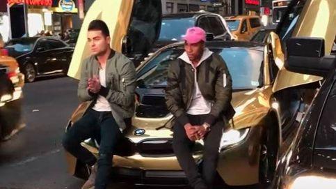 Un YouTuber bloquea el tráfico en NY y le 'batean' su BMW