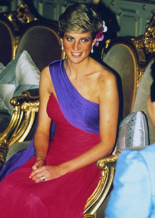 Foto:  Diana de Gales, en Tailandia, en febrero de 1988. (Getty)