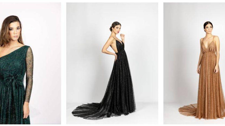 Algunos vestidos de su nueva colección. (Rocío Osorno Atelier)