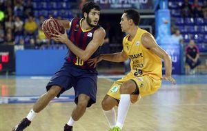 Un gran Barça arrolla al Gran Canaria desde la línea de triples