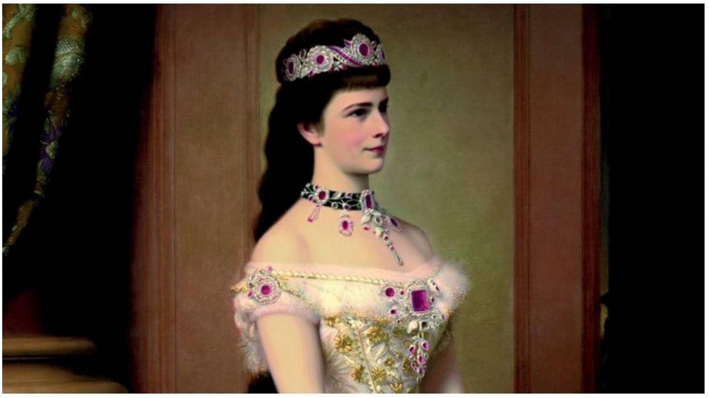 Retrato de la emperatriz Sissi, de Georg Raab. (Sisi Museum-Hofburg Wien)