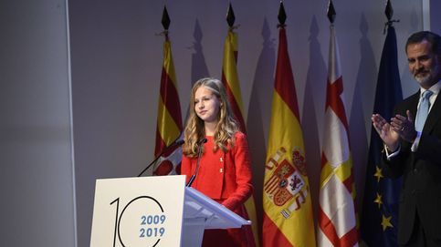 El discurso de Leonor en Barcelona: castellano, catalán, árabe e inglés