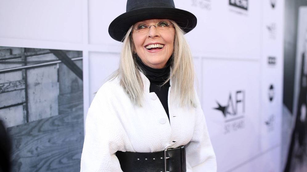 Foto: Diane Keaton, exitosa actriz y decoradora. (Getty)