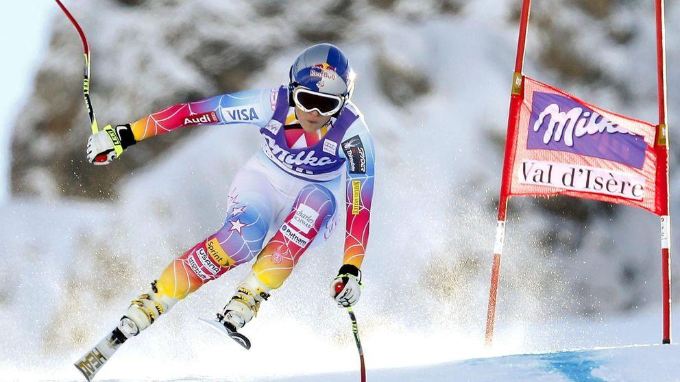 La rodilla  de una Lindsey Vonn desolada le impedirá ir a Sochi