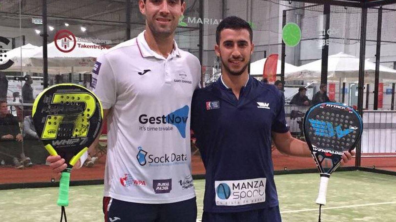 Javi Escalante y Álvaro Cepero también participan en el Helsinborg Challenger. (@WorldPadelTour)