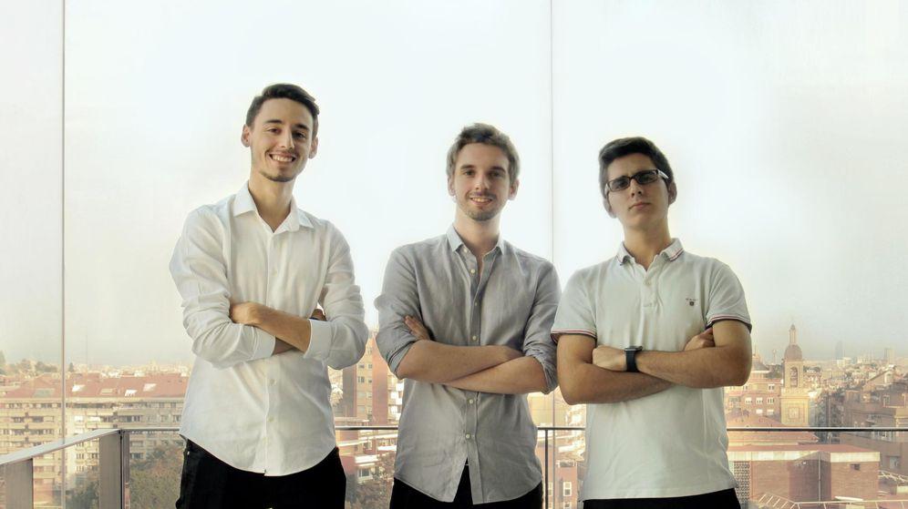 Foto: Rafael Rebollo, Pablo Vidarte y Javier Rodríguez, creadores de Bioo