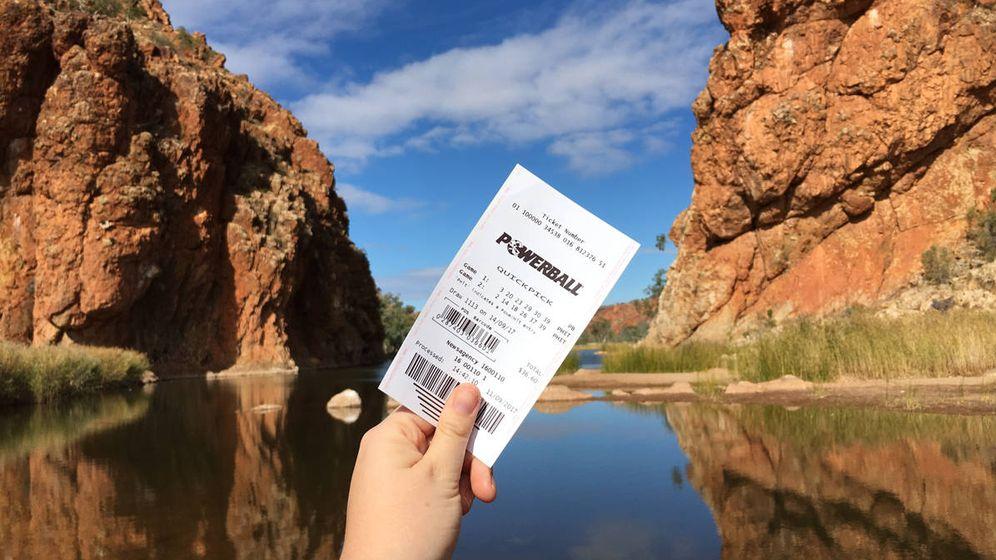 Foto: Viajar está entre las cosas que hacen los premiados en los sorteos de la lotería(Foto: The Lott Australia)