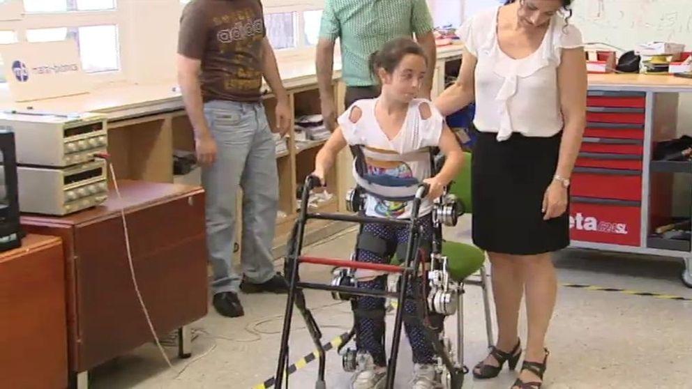 El exoesqueleto español que permite caminar a niños con paraplejia
