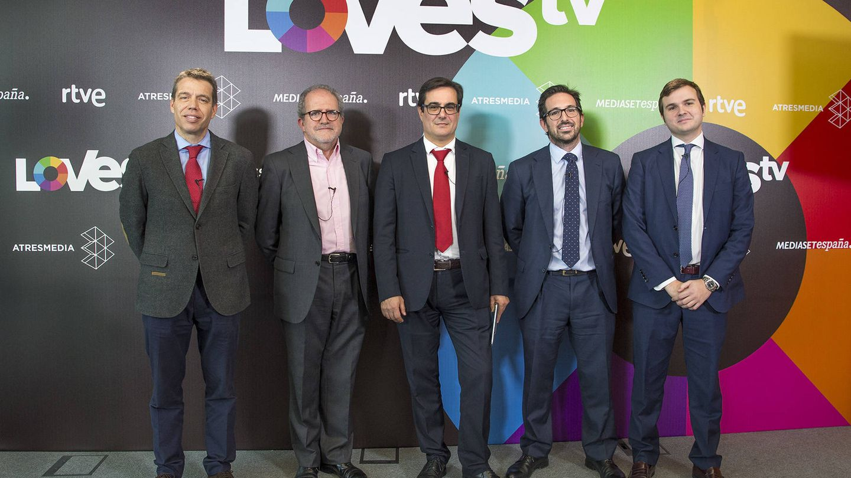 Presentación de la plataforma LOVEStv, a finales del pasado mes de noviembre. (RTVE)
