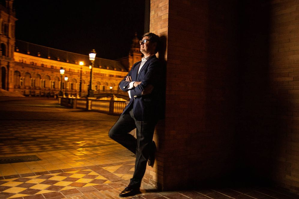 Foto: Álvaro Pimentel, candidato de Ciudadanos a la Alcaldía de Sevilla. (Foto: Fernando Ruso)