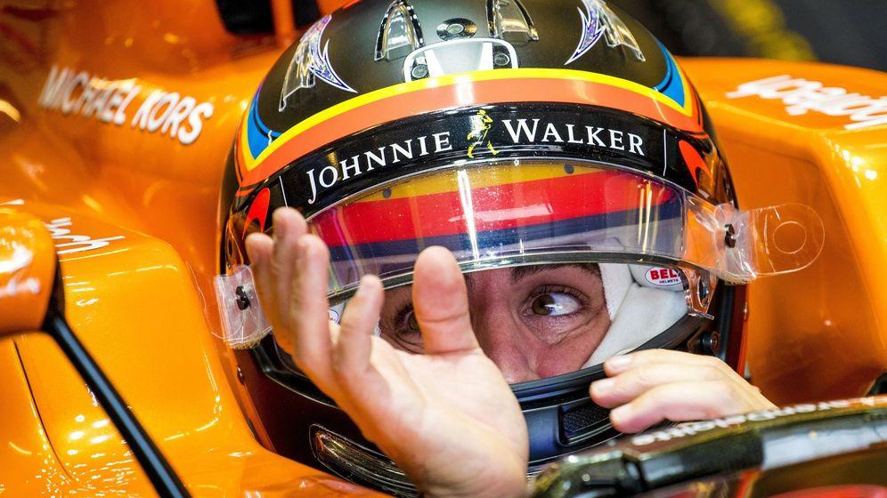 Foto: Fernando Alonso en el GP de EEUU de esta temporada. (EFE)