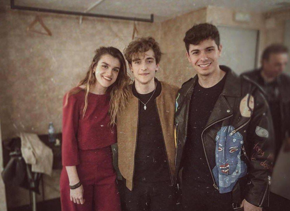 Foto:  Los tres cantantes en una imagen de Instagram.