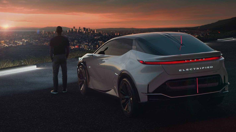 Trasera innovadora en el prototipo LF-Z Electrified de Lexus