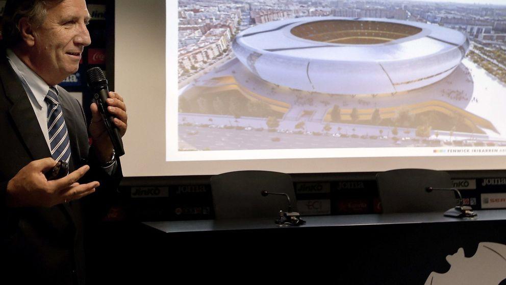 El Valencia rebaja el coste del Nuevo Mestalla en 60 millones