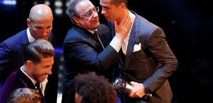 Post de Las tribulaciones de Cristiano Ronaldo respecto a Florentino Pérez