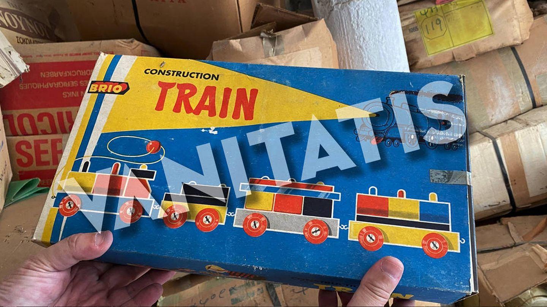 Un juguete encontrado en Tatoi. (Vanitatis / Ministerio de Cultura de Grecia)