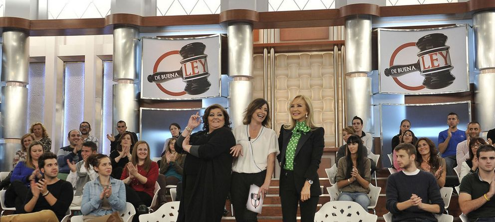 Foto: 'De buena ley' regresa a la parrilla de Telecinco tras su parón de prueba