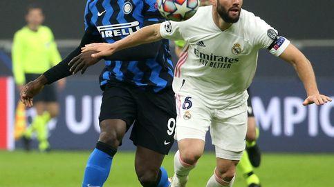 La desesperación de Lukaku: Nacho y Varane superan la dependencia de Ramos