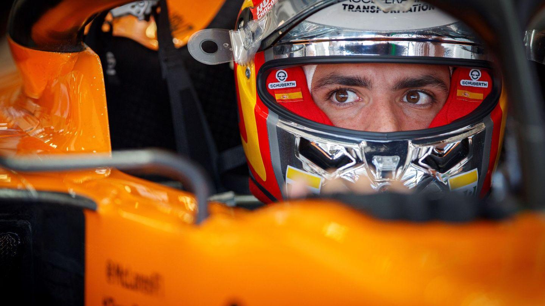 Carlos Sainz este viernes en Red Bull Ring. (EFE)