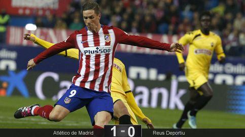 El Atlético se clasifica con lo mínimo, pero sin goles de Fernando Torres