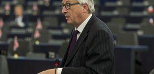 Post de Bronca de Juncker a los eurodiputados por hacer pellas:
