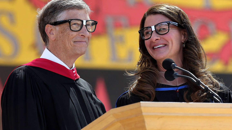 Bill y Melinda Gates. (Getty)