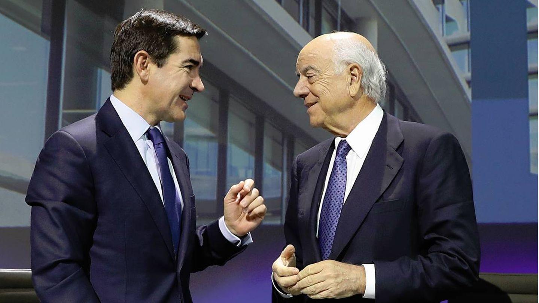 Carlos Torres y Francisco González. (BBVA)