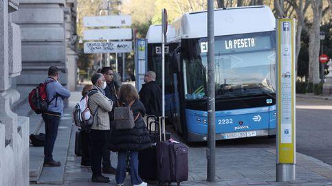 Los autobuses de Madrid reducen su aforo a 20 pasajeros en los estándar