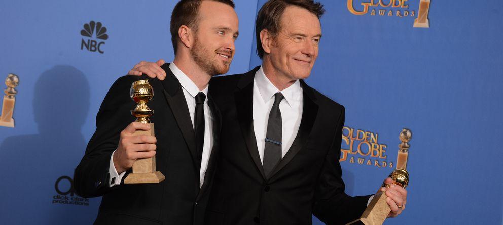 'Breaking Bad' corona su adiós triunfando en los Globos de Oro