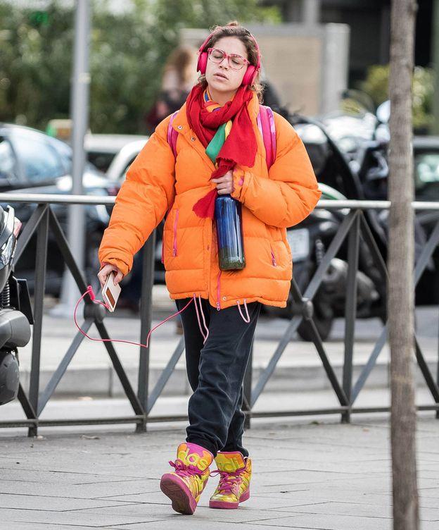 Foto: Cósima Ramírez, por las calles de Madrid. (Lagencia Grosby)