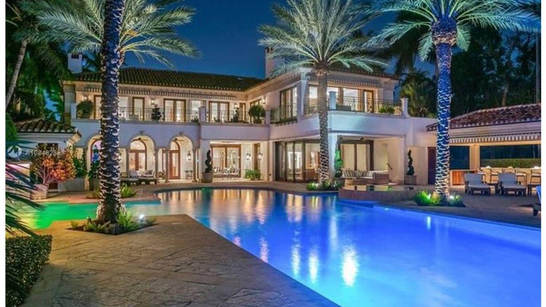 La espectacular mansión de Jennifer Lopez en Miami. (Realtor)