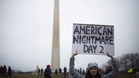 Las imágenes de la marcha de las mujeres en Washington contra Trump