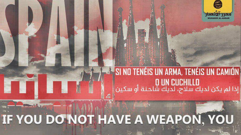 Propaganda contra España de comienzos de marzo en el foro yihadista Muharrir al Ansar.
