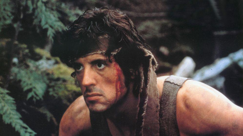 Foto: Sylvester Stallone, en un fotograma de 'Acorralado'.