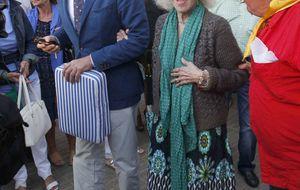 Foto: La Duquesa se lleva a Alfonso Díez a la Feria de Santiago de Santander