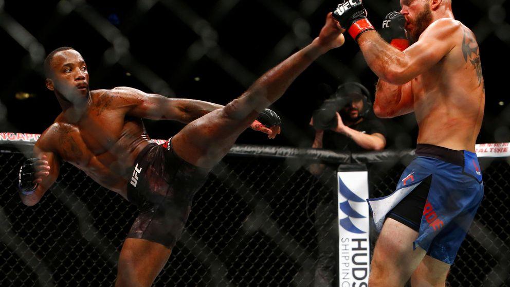 UFC San Antonio: Edwards rompe a Dos Anjos en un festival de KO tempraneros