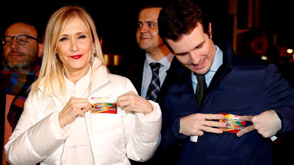 Foto: Cifuentes, con Casado. (EFE)