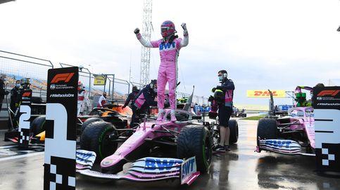 Fórmula 1: Lance Stroll se lleva una pole caótica en Turquía con Carlos Sainz 16º