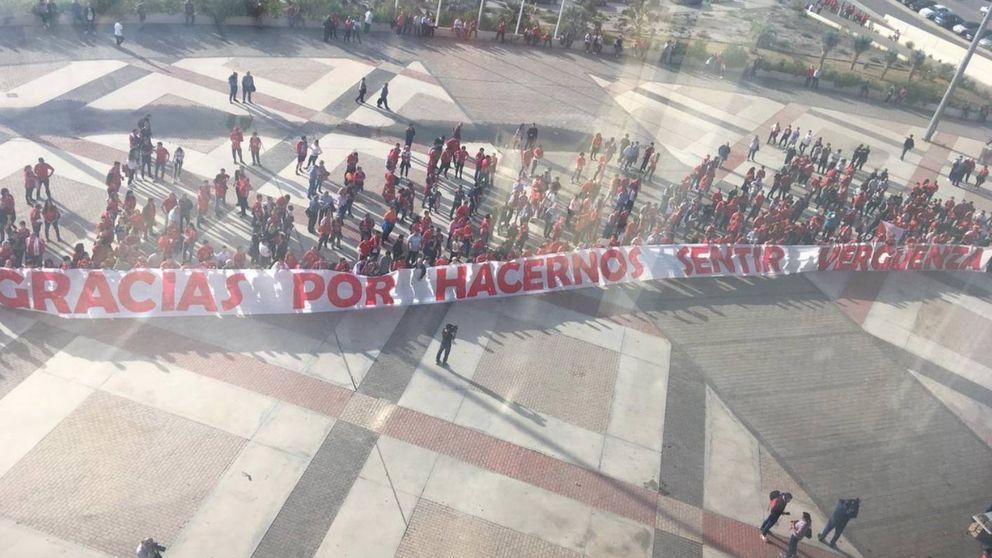 Gracias por hacernos sentir vergüenza, el lío en el Murcia y la espantada del presidente