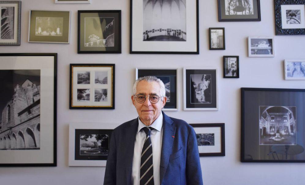 Foto:  Jean-Marc Pujol, alcalde de Perpiñán. (Fotos: Carlos Barragán)
