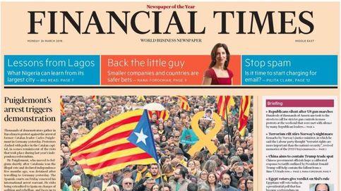 Así cubre la prensa la detención de Puigdemont