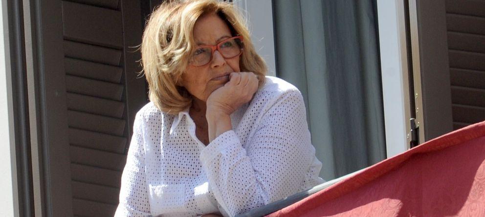 María Teresa Campos y Bigote Arrocet han tenido su primera discusión de pareja