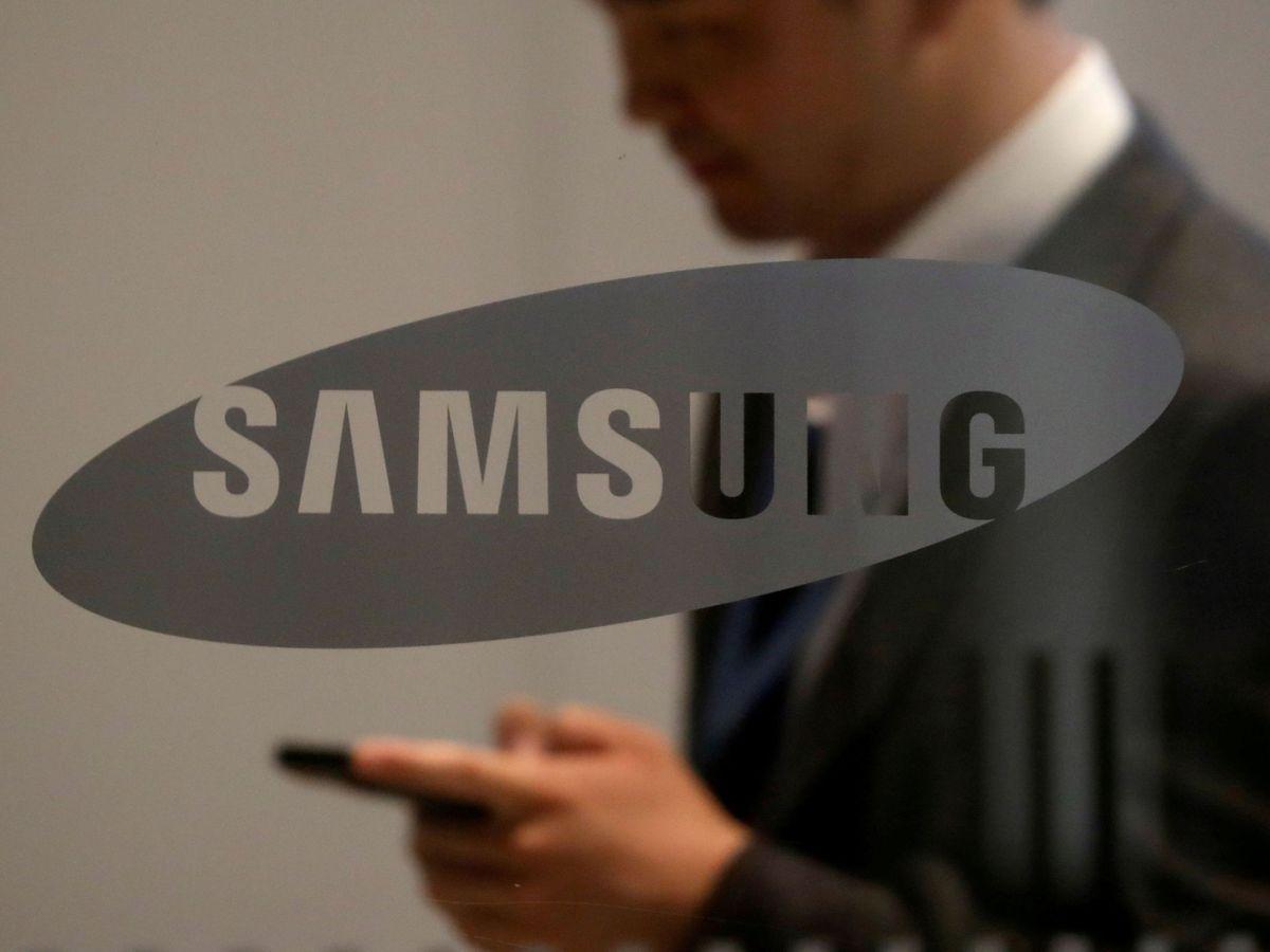 Foto: Logo de Samsung. (Reuters)