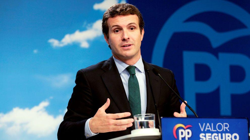 Los barones del PP 'centran' a Casado para salvar sus opciones el 26-M