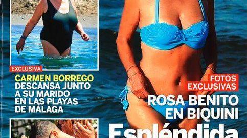 Kiosco rosa: Terelu, Carmen Borrego, Rosa Benito y Gema López, el despelote de 'Sálvame' en la playa