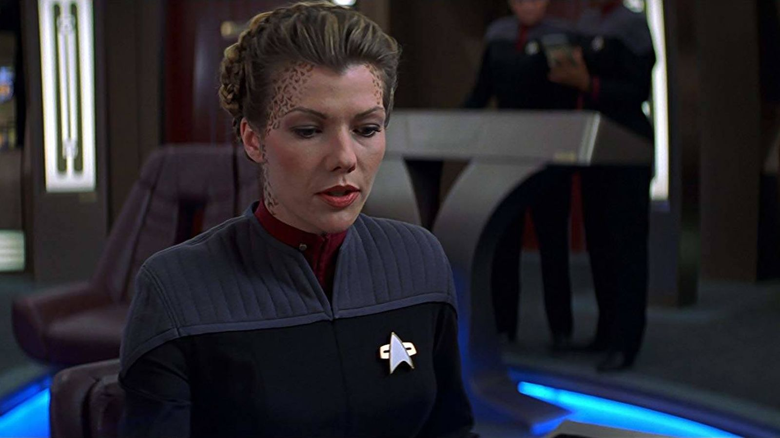 Foto: Stephanie Niznik, en 'Star Trek'.