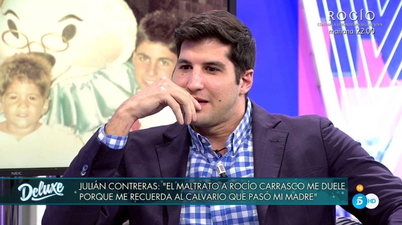 Julián Contreras en 'Sábado Deluxe'. (Telecinco).