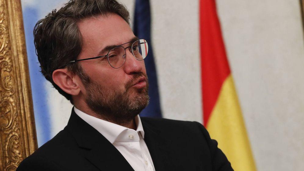 Foto:  Màxim Hueerta, el día que cedió su cartera como ministro a José Guirao. (Gtres)