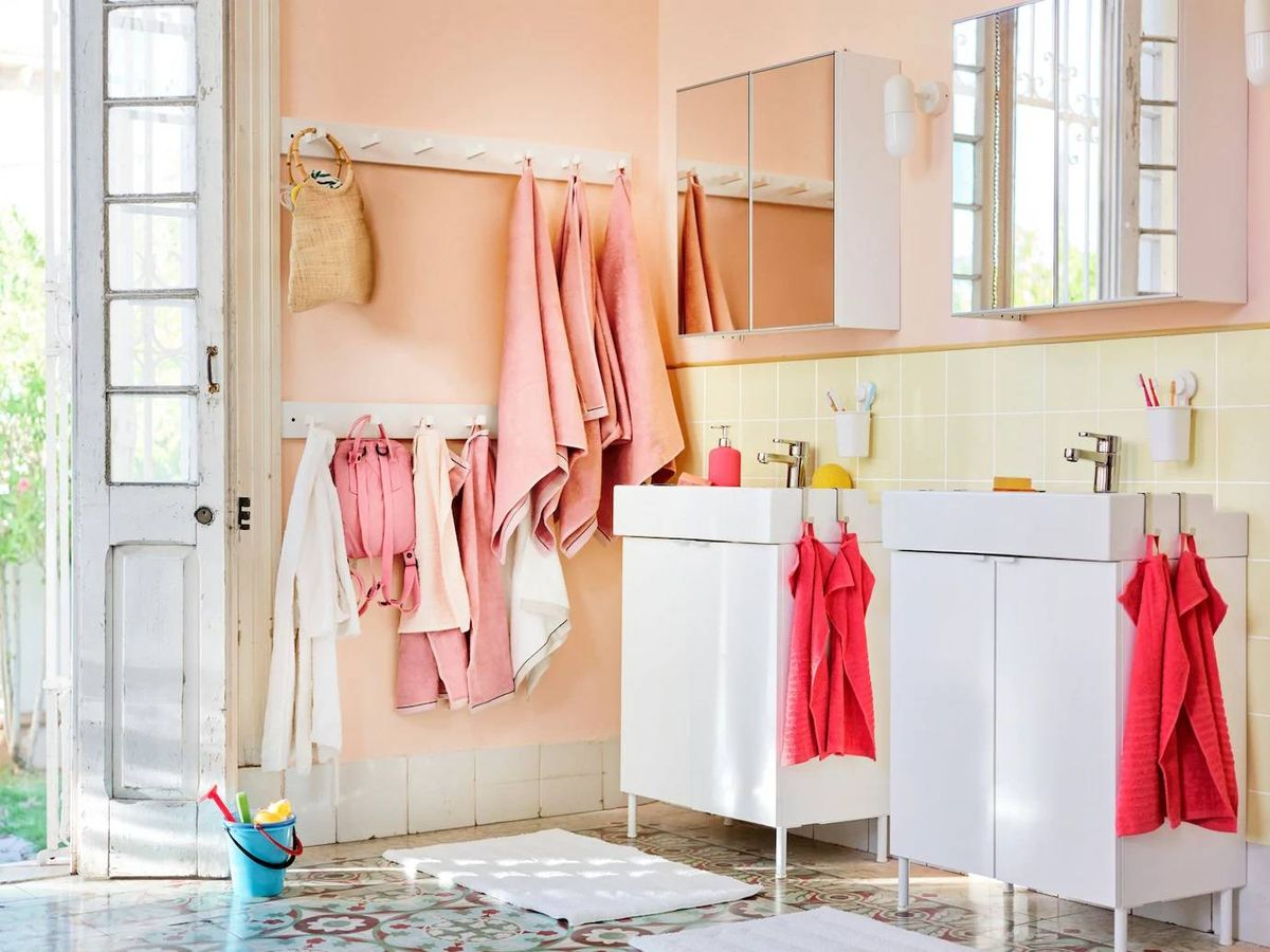 Foto: Decora tu baño con Ikea. (Cortesía)