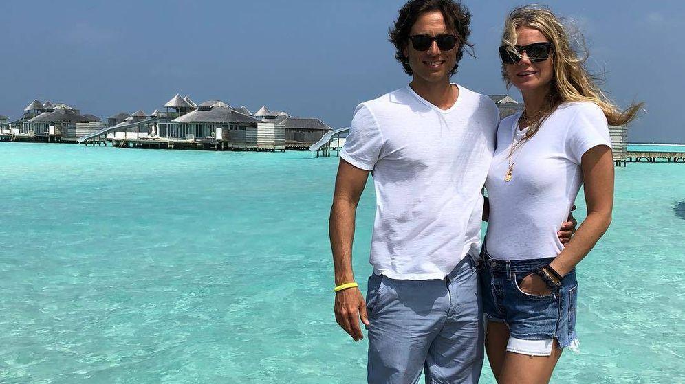 Foto:  Gwyneth Paltrow y su marido. (Instagram)